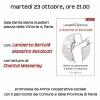"""23 ottobre. Pavia. Presentazione de """"Il rischio di educare"""", con Lamberto Bertolé e Massimo Recalcati"""
