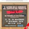 """11, 18, 26 novembre, 11 dicembre. Il lavoro delle Comunità nel contesto del progetto """"Liberi di scegliere"""""""