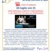 24 luglio. Cine Spiazza ospita Cine Borgo