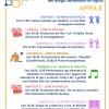 I principali appuntamenti di aprile